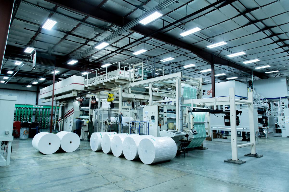 Capabilities - Presses that provide quick turnaround